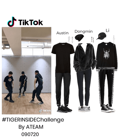 TikTok- #TIGERINSIDEChallenge by Ateam 090720