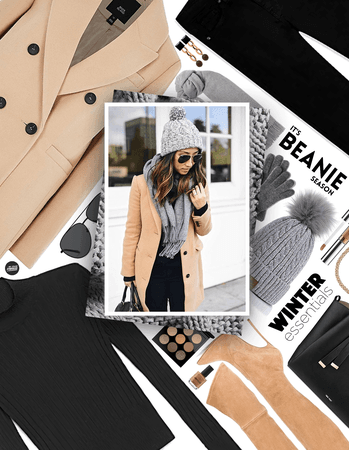 get the look: winter hat