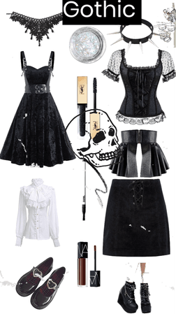 gothic / emo outfit