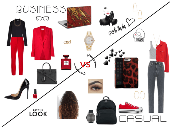 Business vs. Casual