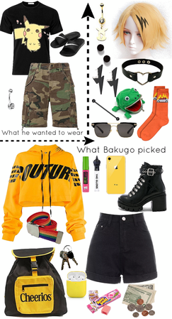 Bakugo Dresses Denki