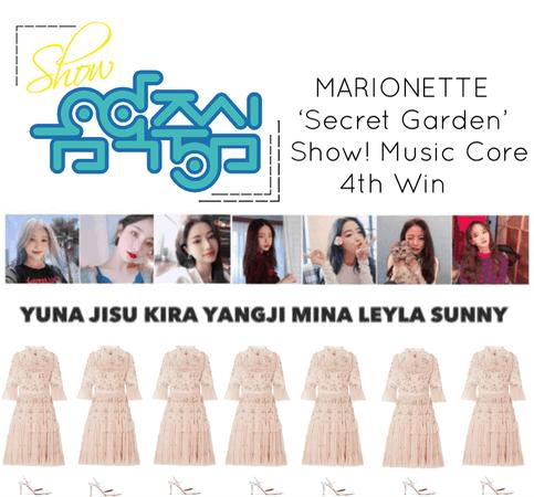 {MARIONETTE} Show! Music Core 'Secret Garden' 4th Win