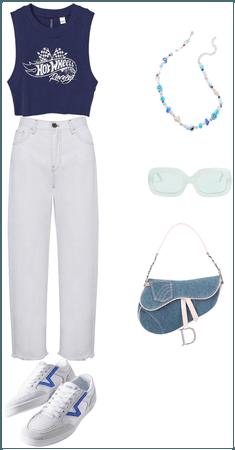 navy stylish