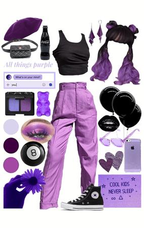 Purple and Black💜🖤