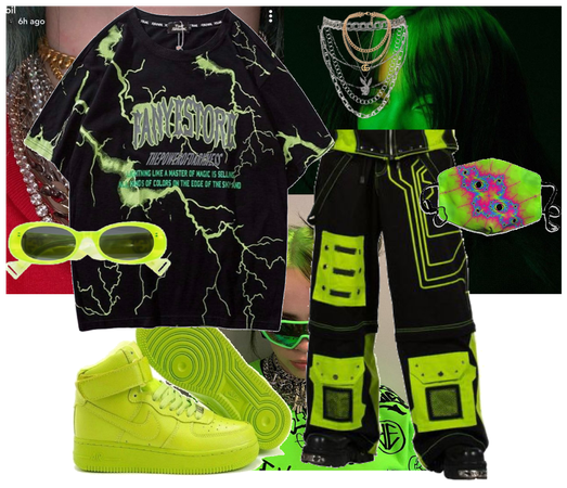 Billie Eilish inspired outfit