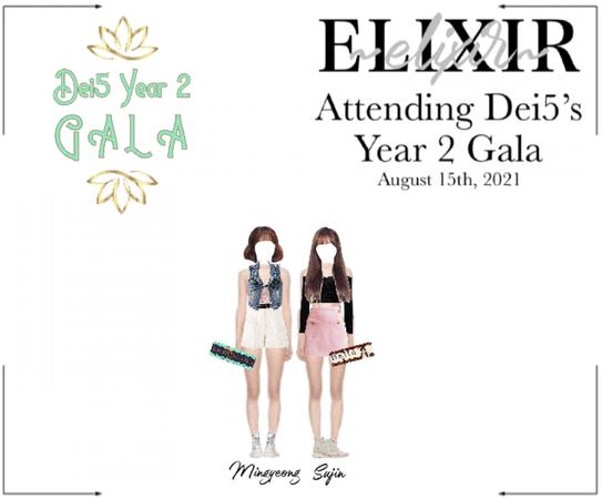 ELIXIR (엘릭서) | Attending Dei5's Year 2 Gala