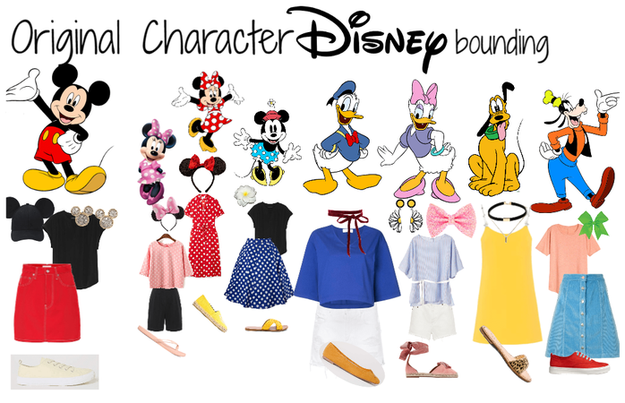 Original Character Group Disneybound