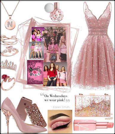 Glam pink wendsday