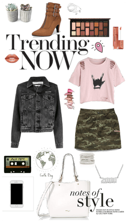 pink and camo outfit