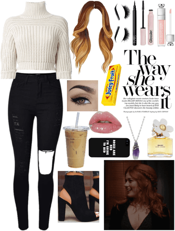 Kara Fray inspired school outfit