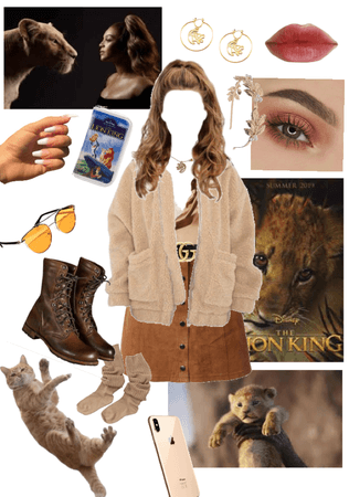 lion king outfit