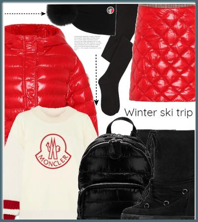 wear skirt on the snow