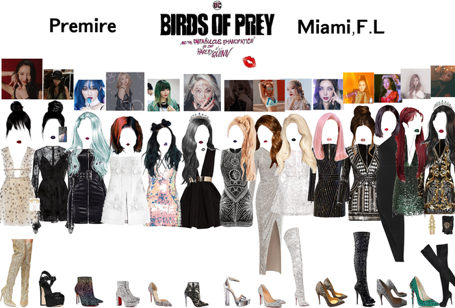 Brids of prey premiere in Miami