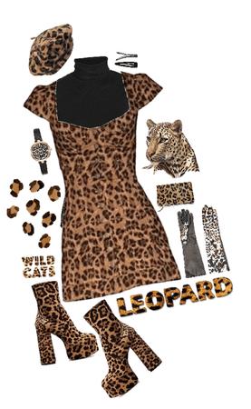 Leopard Halloween costume