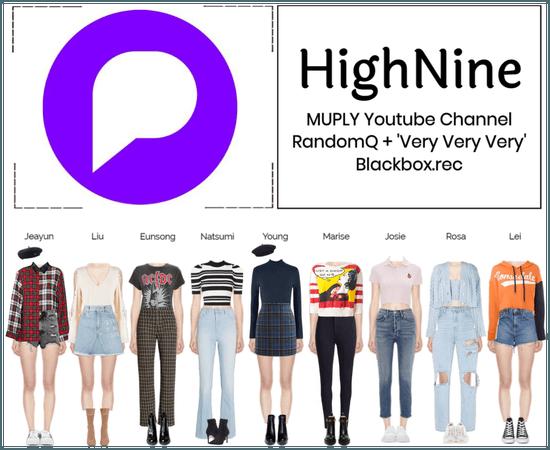HighNine (하이 나인) MUPLY Youtube Channel