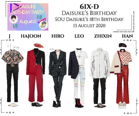 6IX-D [씩스띠] Daisuke's Birthday 200813