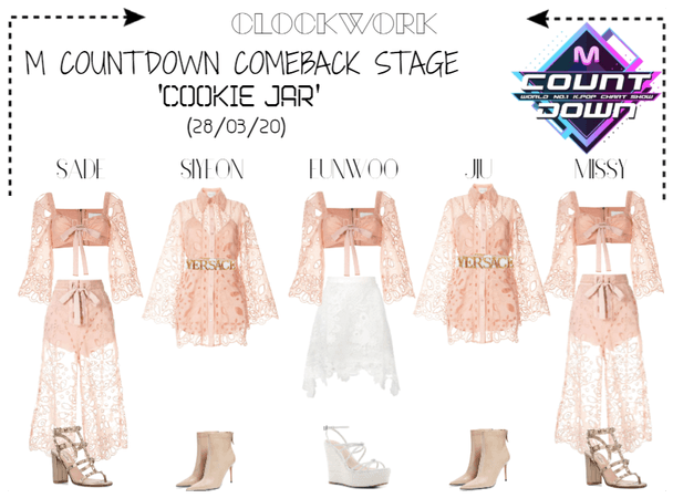 *CWK* M COUNTDOWN | 'COOKIE JAR'