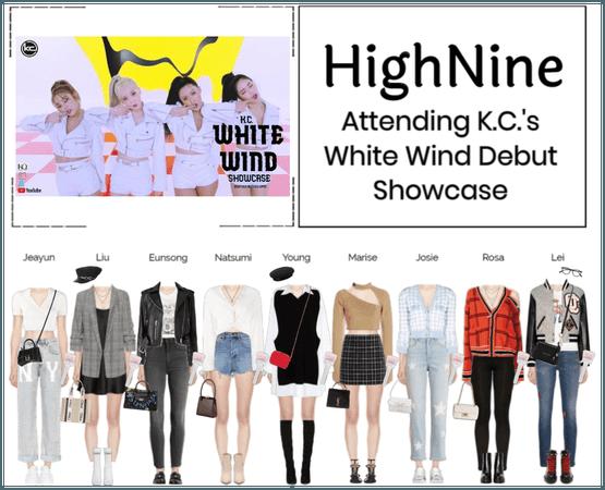 HighNine (하이 나인) K.C's 'White Wind' Debut Showcase