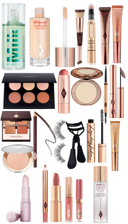 sponsered look by Charlotte tilbury