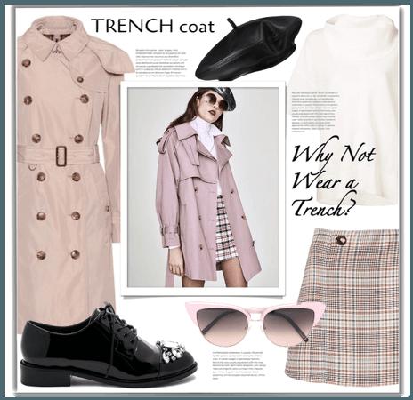 tranch coat