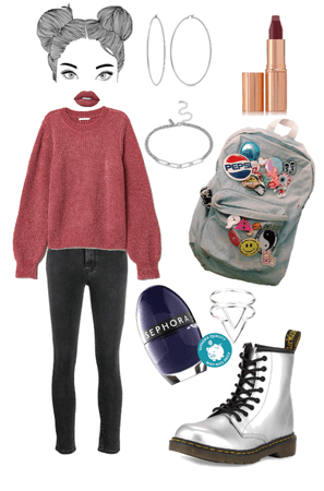 Funky Casual Grunge