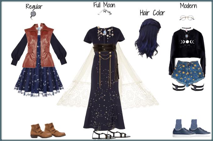 (OC) Petra Moon-Miner- Outfits