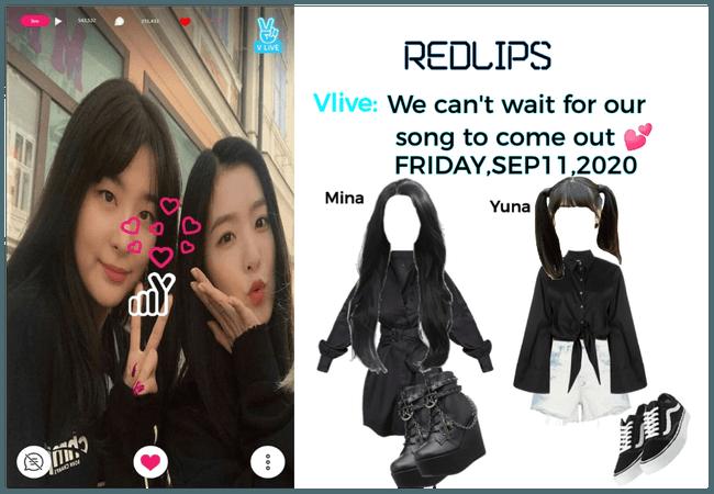 RedLIPS ( 붉은 입술) [Mina & Yuna] Suprise Vlive