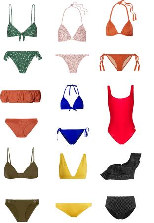 swim suit collection
