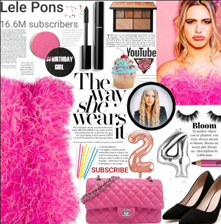 The way she wears it| happy birthday Lele pons 💗