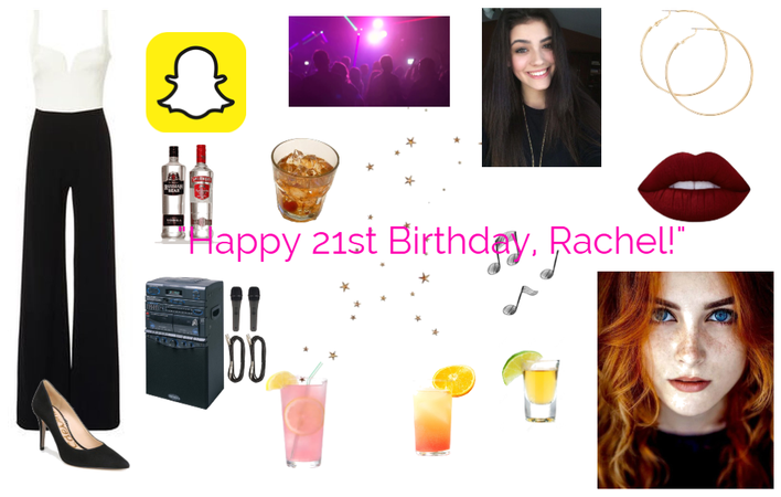 Lilian celebrates Rachel's 21st with her