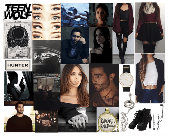 Teen Wolf Oc Holly Lightwood X Derek Hale