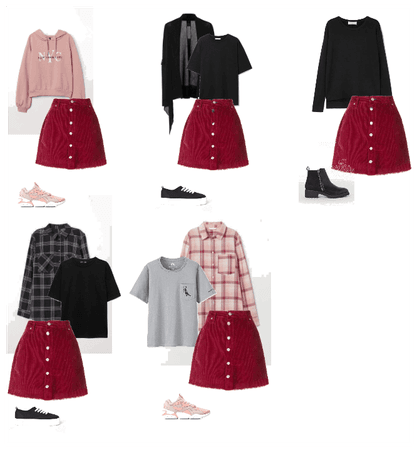 Outfits with skirt