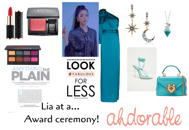 Lia at a award ceremony