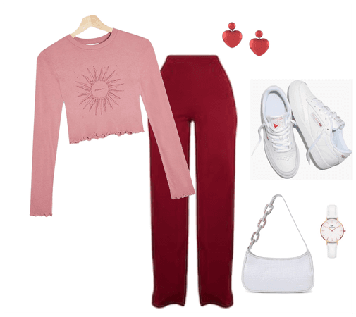 Red and Pink, But Make it Casual
