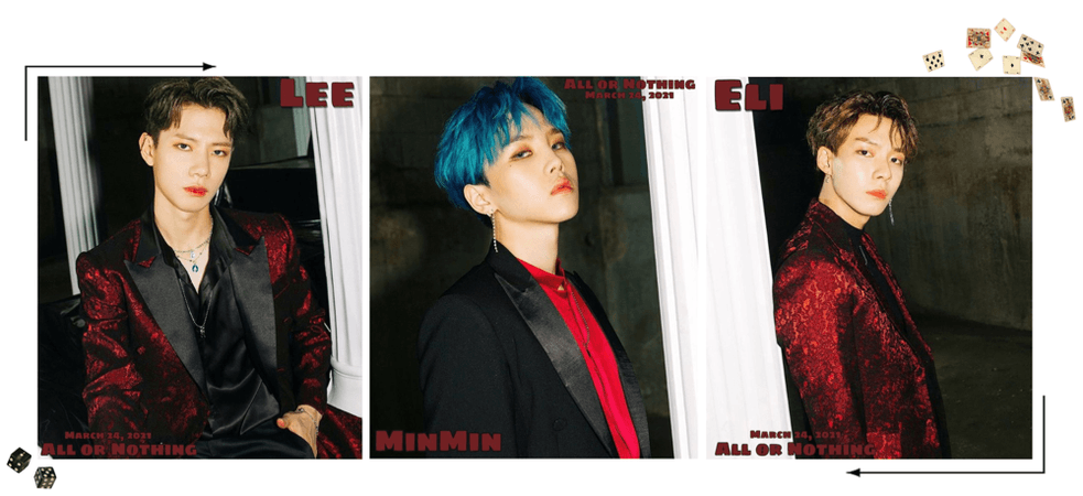 Zus//'All or Nothing' Eli,Lee,MinMin Teaser Photos #1