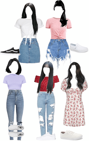 CHARMING LIFE EP2 OUTFITS