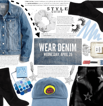 Wear Denim, Wednesday April 29 Is Nat. Denim Day!