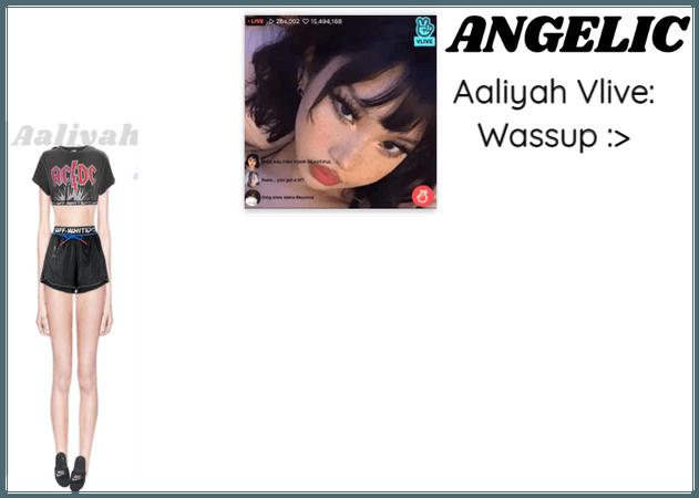 알리야 (Aaliyah) Vlive: Wassup :>