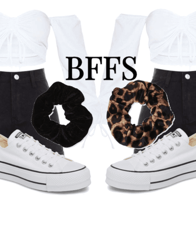 Lewk for those bffs who luv to match their outfits