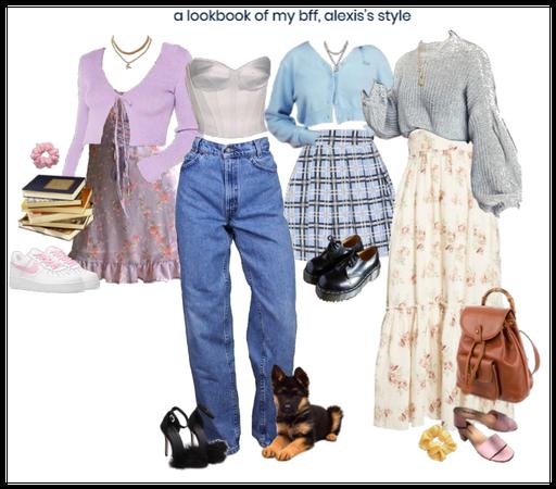 alexis's style lookbook