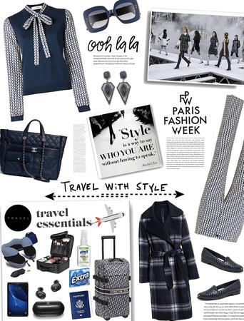 travel essentials. pfw
