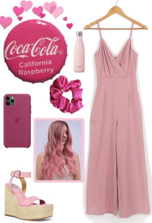 california strawberry coke🍓