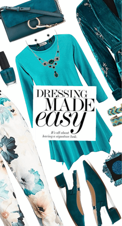 Effortless Style: Turquoise And Teal
