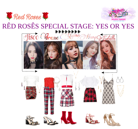 RED ROSES SPECIAL INKIGAYO DEBUT STAGE: YES OR YES