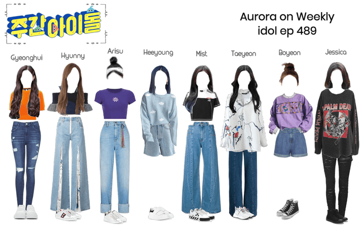 Aurora on Weekly Idol ep.489