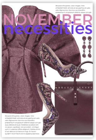November Necessities