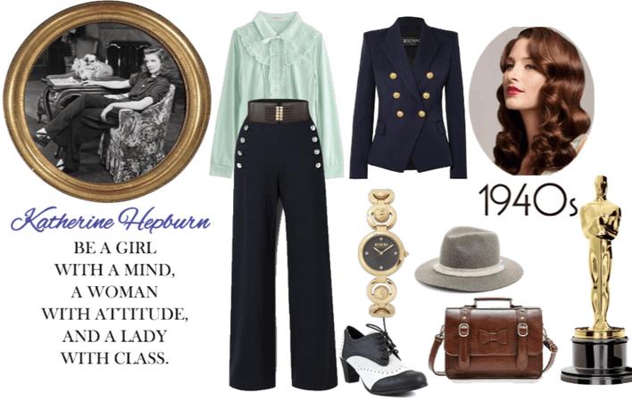 Katherine Hepburn Style