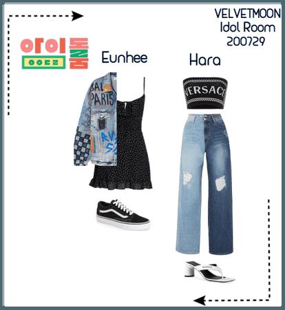 | VELVETMOON | Eunhee & Hara Idol Room Appearance