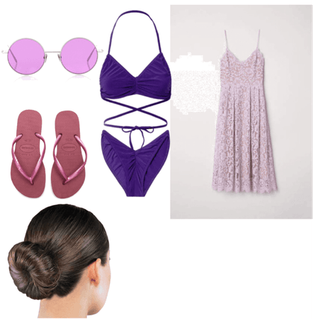 Breanna's Swimming Outfit
