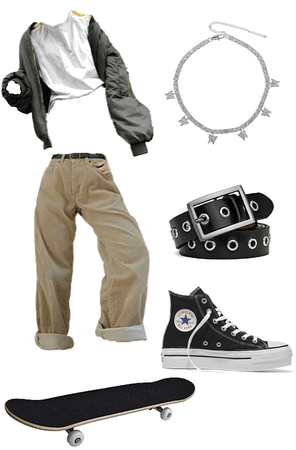 skater/ egirl / indie girl outfit